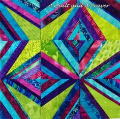 A Quilt and A Prayer--Diamonds Are Forever