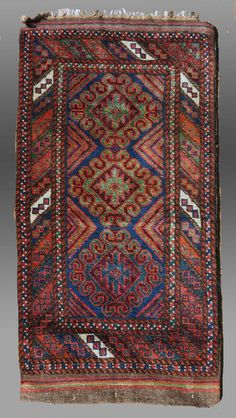 Antique Vintage Tribal Weaving Baluch Tribe SE by tcEclecticImages