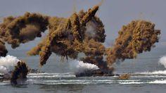 9. September: Manöver zum Jahrestag des Sieges im Koreakrieg vor 66 Jahren