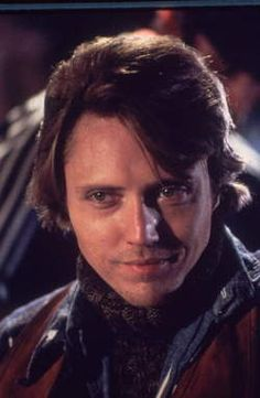 """Christopher Walken 1985..Seriously...what a """"cutie patootie"""" Christopher was!  When did he get the reputation for being """"A little bit creepy...a little bit scary""""???  I love him!   I think he is a GREAT ACTOR....ALTHOUGH....I must admit that in """"SLEEPY HOLLOW"""", with JD....Christopher DID have his CREEP ON!!! LOL.  Still...look at him...he was so cute!!!"""