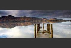 Lake Derwent Pier, Cumbria, England