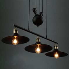 Ding linear industrial style chandelier with 3 light ding https 3 light 35 wide industrial style linear chandelier aloadofball Images