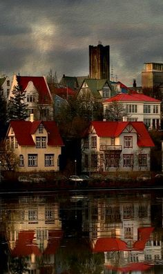 On the banks ~ Reykjavik, Iceland, 2010, photograph by Sverrir Thorolfsson.