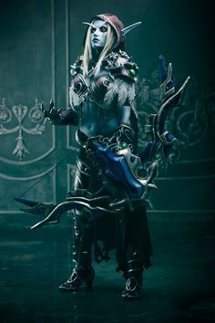 Follow me on Facebook World of Warcraft. Sylvanas Windrunner Costume production/model: Narga (me) Photographer Arwenphoto Full photoshoot more Warcraft cosplays narga-lifestrea...