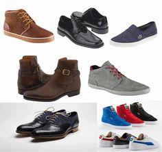 La moda en los zapatos para hombres no es tan complicada como la de las mujeres pero eso no quiere decir que no sea igual de importante.