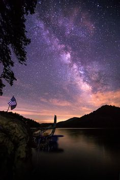 Milky Way at Lake Santeetlah, NC