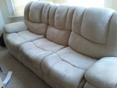 Free Marshmallow Couch. No burns.