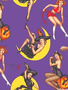 Sexy witch fabric? Of course, why not?