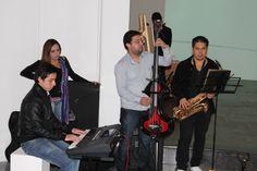 La velada estuvo acompañada por el Grupo de Jazz de UNIMINUTO.