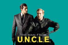 "Diseña un cartel alternativo para la película ""The Man from U.N.C.L.E."""