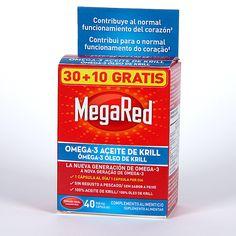 Complemento alimenticio que contiene 100% de aceite puro de Krill antártico, pequeño crustáceo de las aguas frías de la Antártida, concentrado en Omega-3 DHA y EPA que contribuyen al normal funcionamiento del corazón. Disminuye los niveles de colesterol y triglicéridos. Aprovéchate de esta fantástica promoción con regalo de 10 cápsulas.
