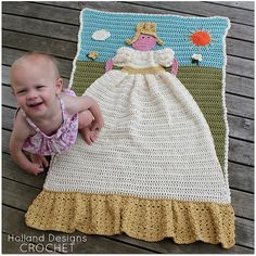 SUPER CUTE!!! Ravelry: Princess Quilt pattern by Lisa van Klaveren
