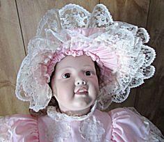 Porcelain Doll, Patricia Lozano, Limited Edition, Hand
