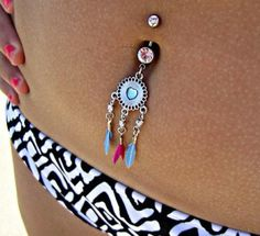 Belly button ring<3