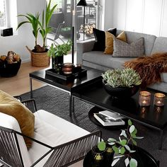 GARDEN DESIGN - Therese Knutsen Nordic Home, Scandinavian Home, Room Interior, Home Interior Design, Garden Design, House Design, Beautiful Homes, Table Settings, New Homes