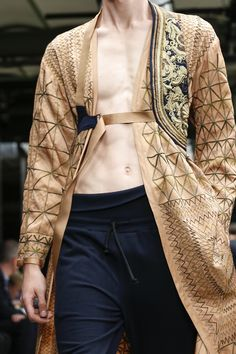 Dries Van Noten Menswear Spring Summer 2015