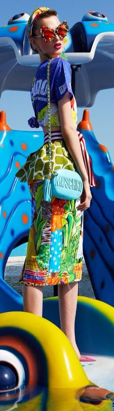 rainbowfashion.quenalbertini: Moschino