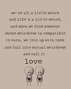 You & I.
