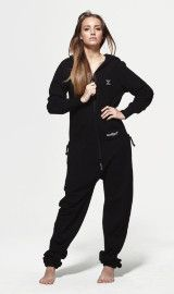 OnePiece Original Black Zip - OnePiece – Jump In @ Jessica Onesie Pajamas, Overall, Black Jumpsuit, Piece Of Clothing, Jumpsuits For Women, Jumper, Onesies, One Piece, Zip