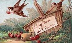 Présentoir à confitures Vintage Labels, Vintage Cards, Etiquette Vintage, Diy And Crafts, Paper Crafts, Vintage Pictures, Illustrations, Decoupage, Printables