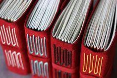 Italian long-stitch book binding tutorial