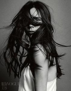 Виктория Бэкхэм (Victoria Beckham) в Vogue China