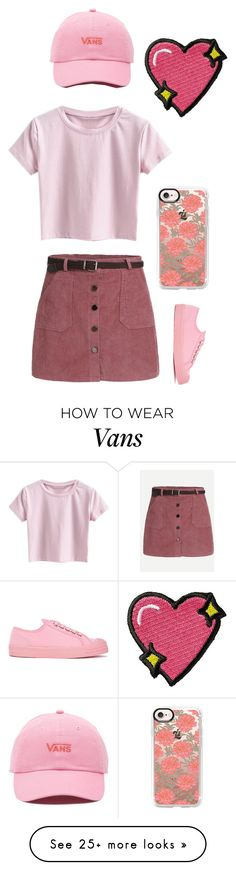 """""""Untitled #70"""" by pipergage on Polyvore featuring Novesta, Vans, Casetify and Stoney Clover Lane"""