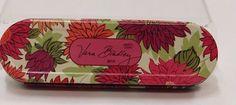 Vera Bradley 2010 Hello Dahlia Floral Pencil Jewelry Travel 3 Piece Tin SB0328 #VeraBradley