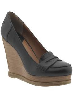 a loafer and a wedge? these might be exactly what i need! (lucky brand on piperlime)
