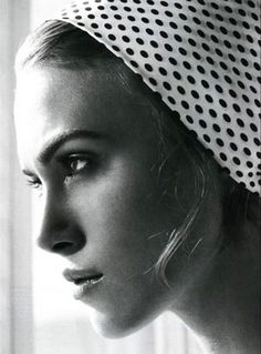 Keira Knightley. cuz really? that perfect nose is rediculous. and don't even get me started on the jaw line.