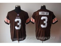 http://www.jordannew.com/nike-cleveland-browns-3-weeden-brown-elite-jerseys-authentic.html NIKE CLEVELAND BROWNS #3 WEEDEN BROWN ELITE JERSEYS AUTHENTIC Only $23.00 , Free Shipping!