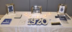 Beautiful Zeta Phi Beta Table #Greek #Sorority #ZetaPhiBeta #ZPhiB #Zeta