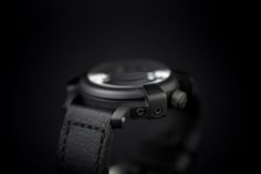 All Black Automatic Watch | Tododesign by Arq4design