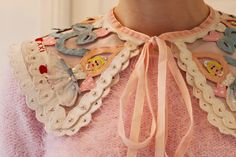I went to the Meadham Kirchhoff sample sale in December. Collars, Meadham Kirchhoff, Fashion Details, Fashion Design, Destiny's Child, Fashion Show, Fashion Trends, Choker, Cool Outfits