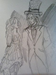 Morpheus and Alyssa: by SofiaSevero on deviantART