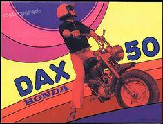 Honda ST50 / ST70 (Dax) # Made in Belgium !