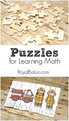 Puzzles for Learning and Practicing Math