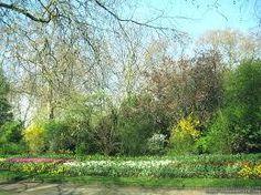 Hyde Park, London England.Spring...