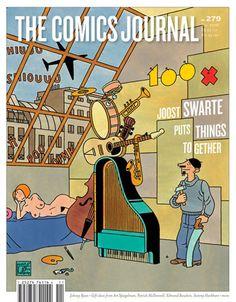 The Comics Journal cover #279 (Nov 2006) www.tcj.com