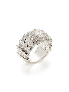Cobra Flexible Diamond Ring by Roberto Coin on Gilt.com