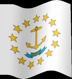 Rhode Island State Flag #VisitRhodeIsland