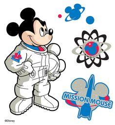 astronaut cut out mouse - photo #22