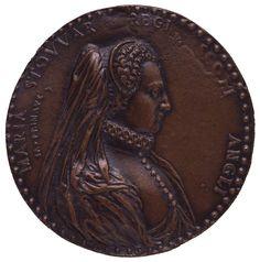 Mary Stuart, Queen of Scots by Jacopo Primavera,1580s