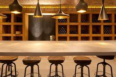 Countertop Cuernavaca wine cellar, Mexico City - Ba Design Group