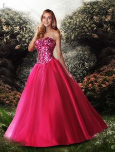 f5d9dce17ea RK Bridal - Disney Forever Enchanted Prom by Impressions Spring 2013 - Style  35550 Category  THE FAIREST Featured Color  Fuchsia Available Color(s)   Fuchsia ...