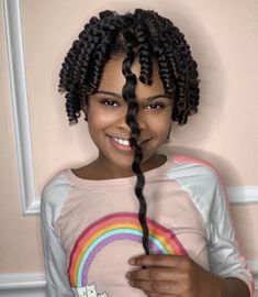 The shrinkage is real😍⁣ ⁣ Loving these corkscrew curls on this beauty by @thehairmagician 🌀⁣ Our hair is truly magical 💫 ⁣ Black Girls Hairstyles, Braided Hairstyles, Easy Braid Styles, Black Braids, Curls, Little Girls, Natural Hair Styles, Stylists, Dreadlocks