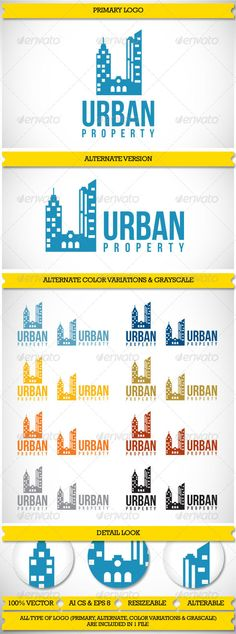 Property Realty Urban logo,if u need a logo, purchase it here, $29 only