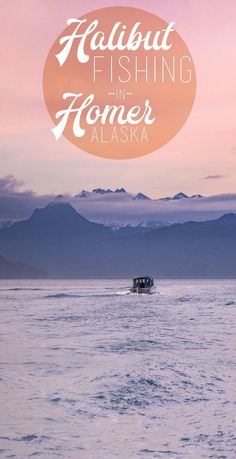 Halibut fishing in Homer Alaska is like no other fishing in the world. The gorgeous breathtaking scenery and spectacular fishing, few places can rival Alaska.  via @gettingstamped