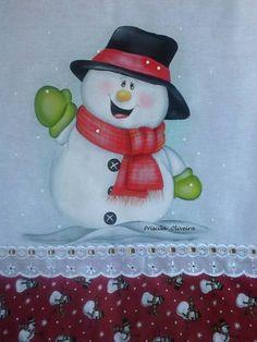 Pano de prato de sacaria pintado a mão com detalhes de tinta puff.    O acabamento é feito com tricoline de 10 cm e bordado inglês... R$ 26,00