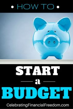 Everything you need to know to start a budget and get complete control of your money!    Printable budgeting forms and other resources included!  #budget #howto #start http://www.cfinancialfreedom.com/how-to-start-a-budget/
